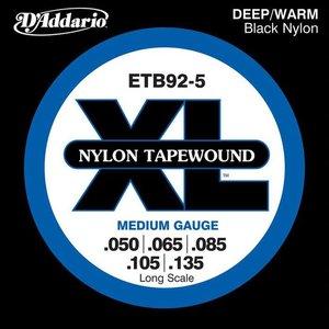 D'Addario ETB92-5 Snaren Nylon Tapewound Medium