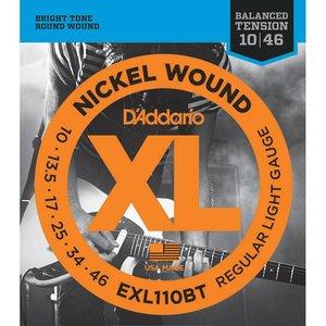 D'Addario EXL110BT Snaren Nickel Wound Regular Light