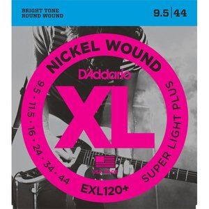 D'Addario EXL120+ Snaren Nickel Wound Super Light Plus