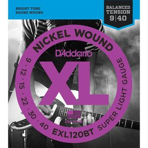 D'Addario EXL120BT Snaren Nickel Wound Super Light