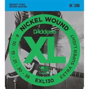 D'Addario EXL130 Snaren Nickel Wound Extra Super Light