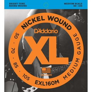 D'Addario EXL160M Snaren Nickel Wound Medium