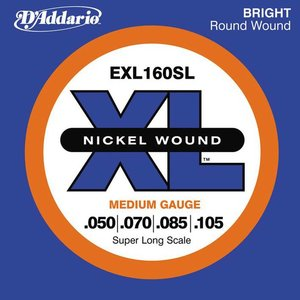 D'Addario EXL160SL Snaren Nickel Wound Medium