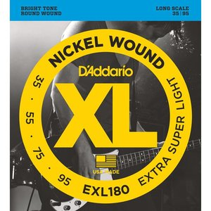D'Addario EXL180 Snaren Nickel Wound Extra Super Light