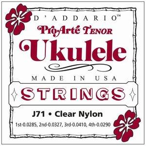 D'Addario J71 Tenor ukulelesnaren