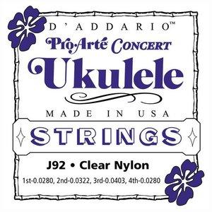 D'Addario J92 Concert ukulelesnaren
