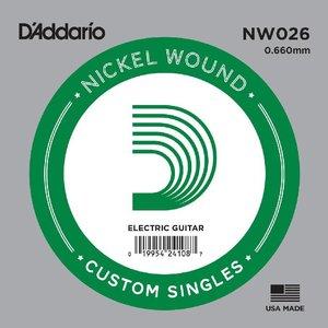 D'Addario NW026 Snaar staal Nickel Wound