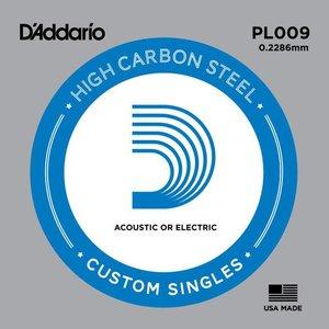 D'Addario PL009 Snaar Plain Steel