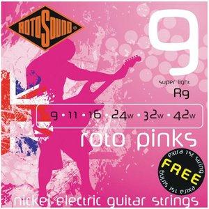 Rotosound R9 Snaren Roto Pinks Super Light
