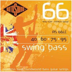 Rotosound RS66LC 4-Snarige basgitaarsnaren Swing Bass Medium