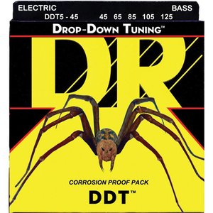 DR Strings DDT5-45 Snaren Drop-Down Tuning Medium 5