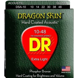 DR Strings DSA-10 Snaren Dragon Skin Extra Light