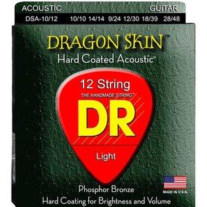 DR Strings DSA-10/12 12-Snarige gitaarsnaren Dragon Skin