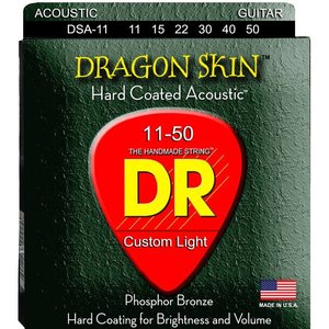 DR Strings DSA-11 Snaren Dragon Skin Custom Light