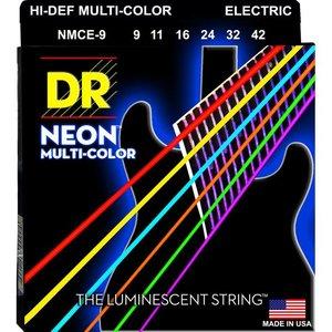 DR Strings NMCE-9 Snaren Neon Multicolor Lite