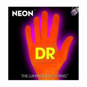 DR Strings NOE-11 Snaren Neon Orange Heavy