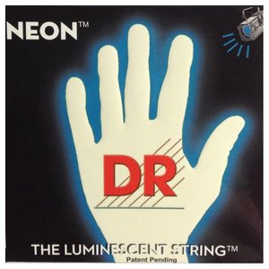 DR Strings NWE-11 Snaren Neon White Heavy