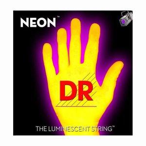 DR Strings NYE-11 Snaren Neon Yellow Heavy