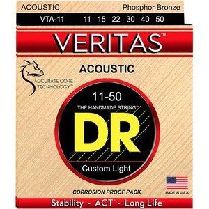 DR Strings VTA-11 Snaren Veritas Custom Light