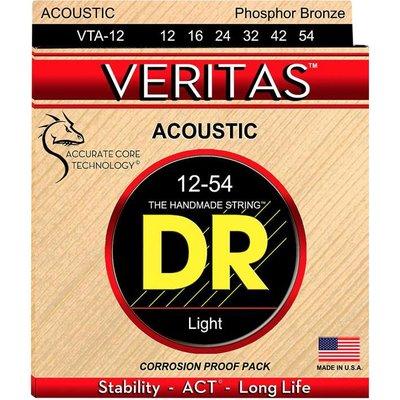 DR Strings VTA-12 Akoestische gitaarsnaren Veritas Light