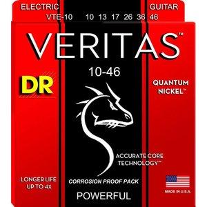 DR Strings VTE-10 Snaren Veritas Nickel Medium