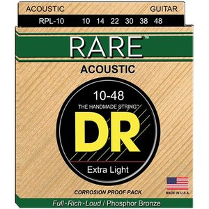 DR Strings RPL-10 Snaren Rare Extra Lite