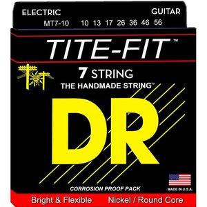 DR Strings MT7-10 Snaren Tite-Fit Medium 7-String