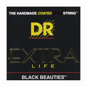 DR Strings BKE-9 Snaren Extra-Life Black Beauties Lite