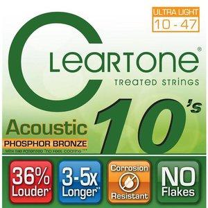 Cleartone 7410 Snaren Phosphor Bronze Ultra Light