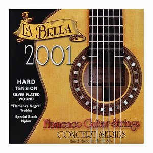 La Bella 2001FH Nylon gitaarsnaren Classic Flamenco High