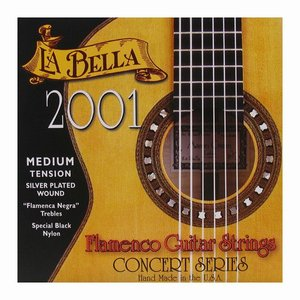 La Bella 2001FM Nylon gitaarsnaren Classic Flamenco Medium