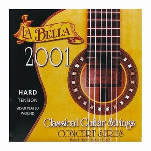 Labella 2001H Nylon gitaarsnaren Concert Hard