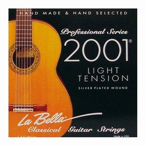 La Bella 2001L Nylon gitaarsnaren Concert Light