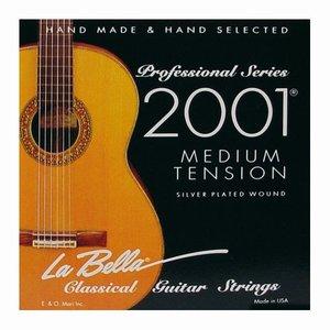 La Bella 2001M Nylon gitaarsnaren Concert Medium