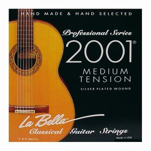 Labella 2001M Nylon gitaarsnaren Concert Medium