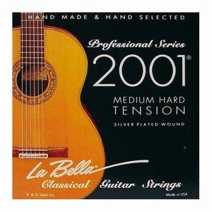 Labella 2001MH Nylon gitaarsnaren Concert Medium Hard