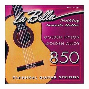 La Bella 850 Nylon gitaarsnaren Concert Gold