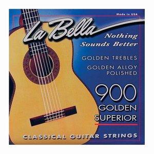 La Bella 900 Nylon gitaarsnaren Golden Superior