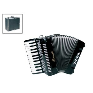 Serenelli Y1625BK Accordeon Chromatisch Black