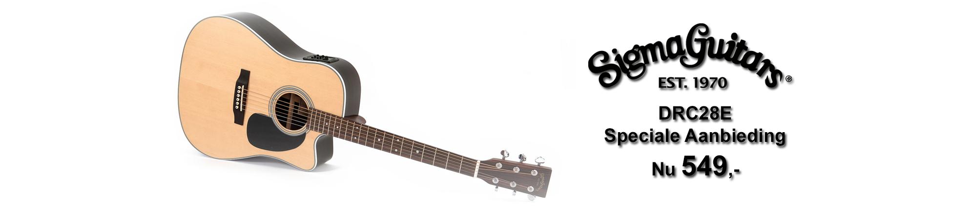 Muziekwinkel specialist in gitaren, versterkers en toetsen banner 2