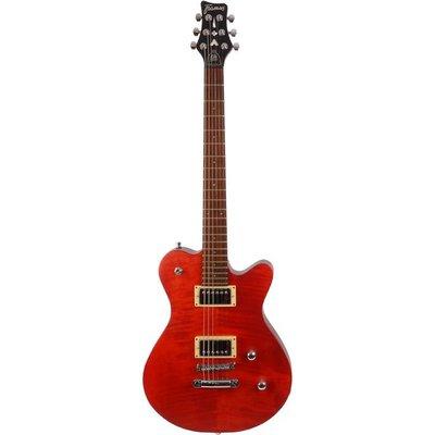Framus Panthera Pro Elektrische gitaar Burgundy Red Oil