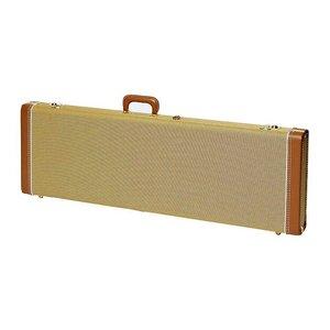 Fender Deluxe Tweed Basgitaarkoffer Jazz Bass