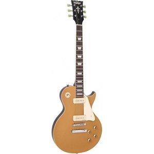 Vintage V100GT Elektrische gitaar Gold Top