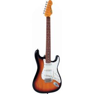 Vintage V6SSB Elektrische gitaar Sunset Sunburst