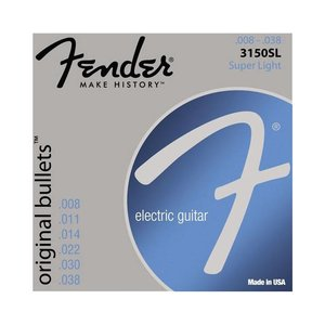 Fender 3150SL Snaren Original Bullets Super Light