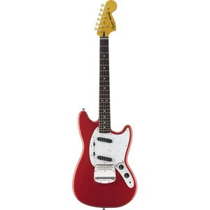 Squier Vintage Modified Mustang Fiesta Red