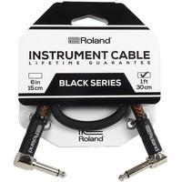 Roland RIC-B1AA Black Series Gitaarkabel 30cm