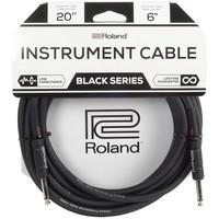 Roland RIC-B20 Black Series Gitaarkabel 6m
