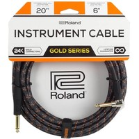 Roland RIC-G20A Gitaarkabel 6m Gold Series