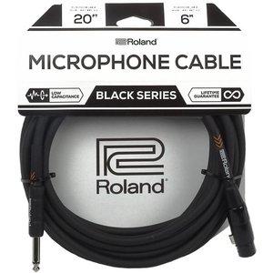 Roland RMC-B20-HIZ Microfoonkabel 6m Black Series